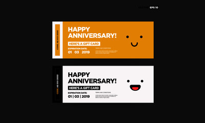Happy Anniversary Emoji Gift Card With Coupon Code and Expiry Date