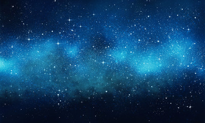 galaxy background. Wall mural