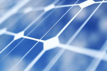 3D rendering solar power generation technology. Alternative energy. Solar battery panel modules with blue sky