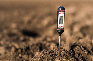 Soil meter for measured  PH, temperature and moisture