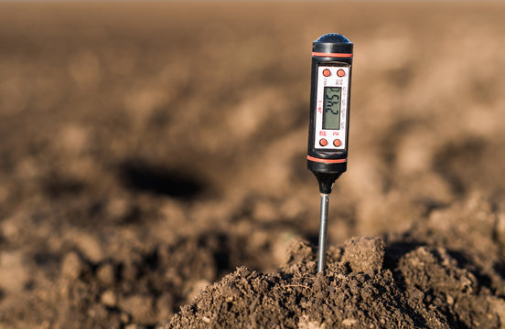 Soil meter for measured  PH, temperature and moisture