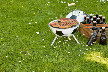 Celebration barbecue for the World Cup Soccer
