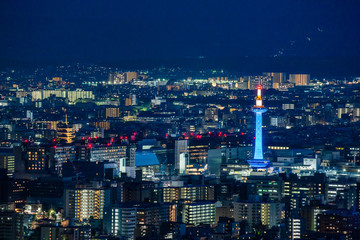 Night view of Kyoto