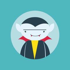 Funny vampire avatar