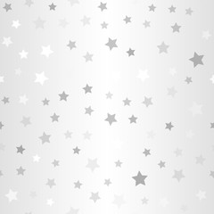 Glowing star pattern. Seamless vector