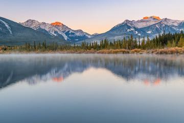 Vermillion Lakes in Banff, Canada