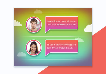 Messaging Window Mockup