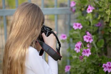 Hobby della fotografia