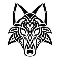 Celtic Wolf head