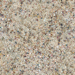 Colorful sand or pebble texture. Seamless texture