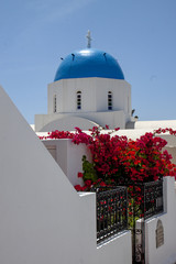 Greece church Santorini