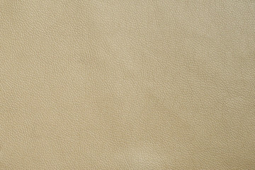 Artificial leather cream color texture