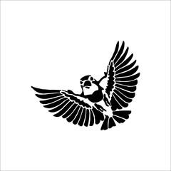 Eagle icon. Vector Illustration