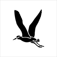 bird icon. Vector Illustration