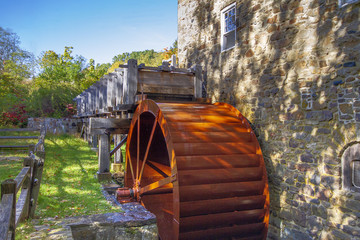 Water Wheel on Mill