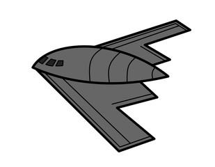 ステルス爆撃機模様(色)