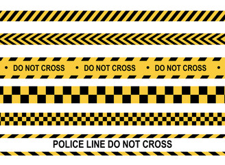 Police line and do not cross