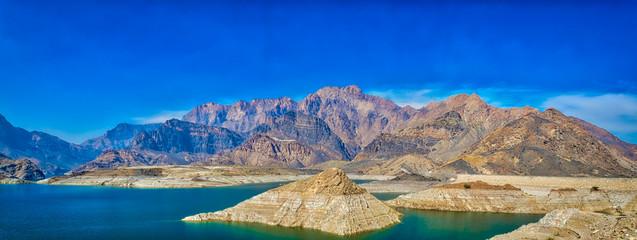 Oman Landscape Panorama