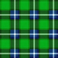 Independence Day of Scotland. 24 June. Scottish green tartan