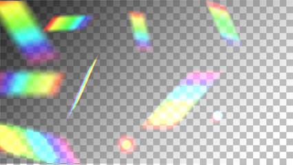 Iridescent Background. Holographic Background with Light Glitch Effect. Vector Rainbow Gradient with Sunshine Glare.