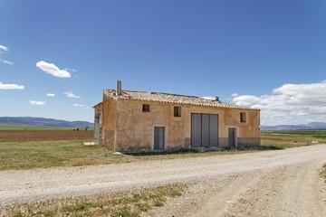 ferme, campagne, Andalousie, Espagne