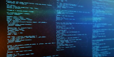 Technologie Hintergrund Software Programmiercode