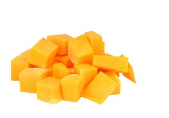 Butternutsquash Cubes