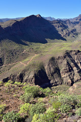 Foto auf Gartenposter Reflexion Gran Canaria scenery