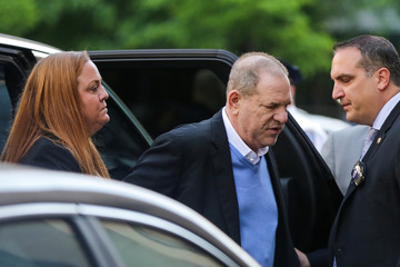 Film producer Harvey Weinstein, surrenders on sexual assault charges to the NYPD in New York