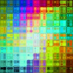 Vivid crystal glass cubic abstract design texture background image