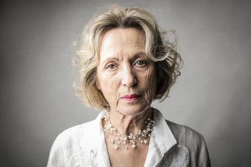 Portrait of elegant lady