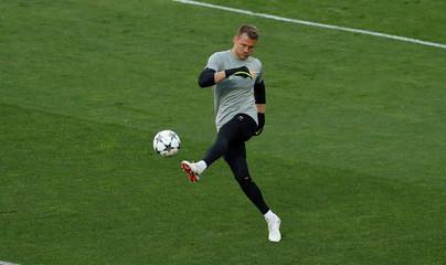 Champions League - Liverpool Training