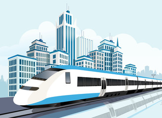 High speed railway for future lifestyle