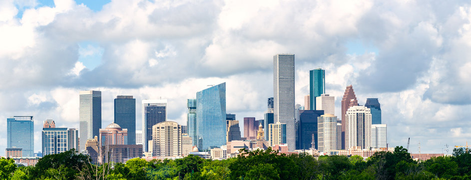 Houston, tx skyline cityscape 2