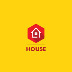 home icon vector logo