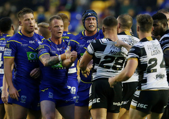 Super League - Warrington Wolves vs Hull FC