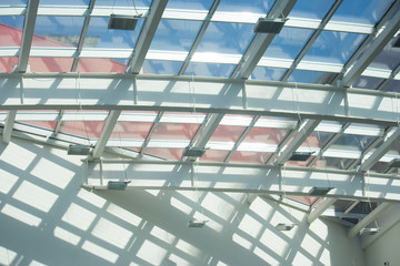 Structure of the glass roof