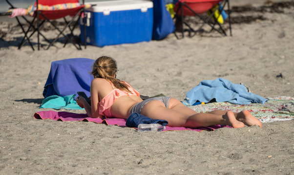 Russisch Teen Nudist Strand