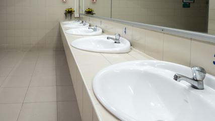 bathroom background or texture