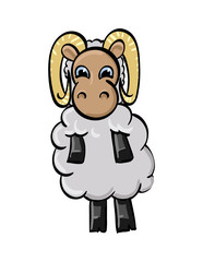 Cartoon Ram