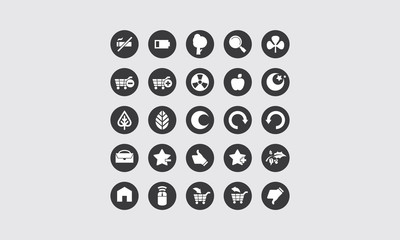 icon for application and web vector logo
