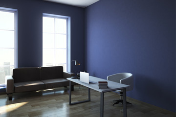 Modern office interior with copyspace