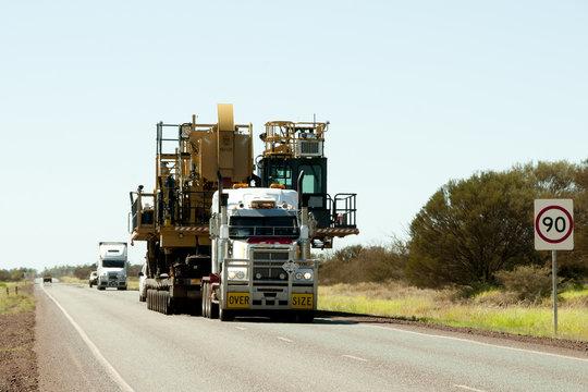 Oversize Heavy Machinery Transport