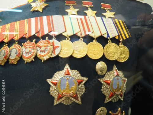 clothing, medals of the German army in world war II