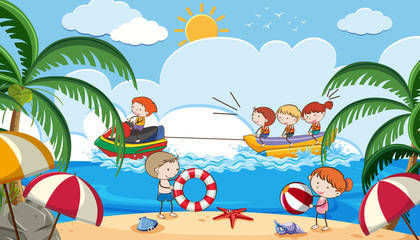 Summer Holiday with Kids Activities