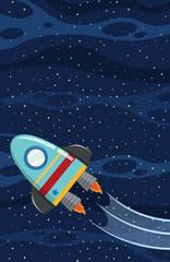 A Rocket on the Sky