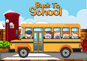 School Bus Back to School Theme