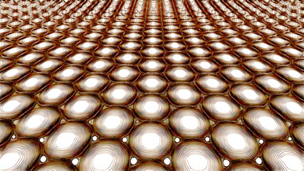 Metamaterials - 2D Materials - Graphene - Abstract Illustration
