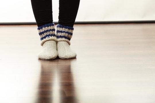 Warm female socks perfect for winter