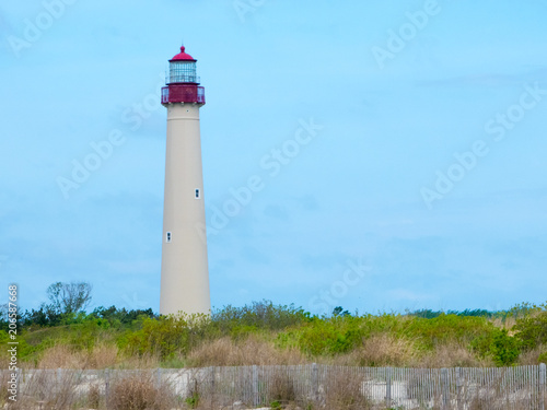 The Virginia Beach Lighthouse In Usa
